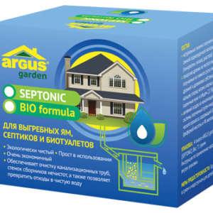 Средство для обеззараживания стоков Argus Garden Septonic