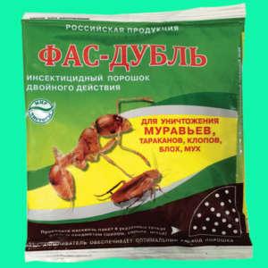 Инсектицидный препарат Фас-дубль